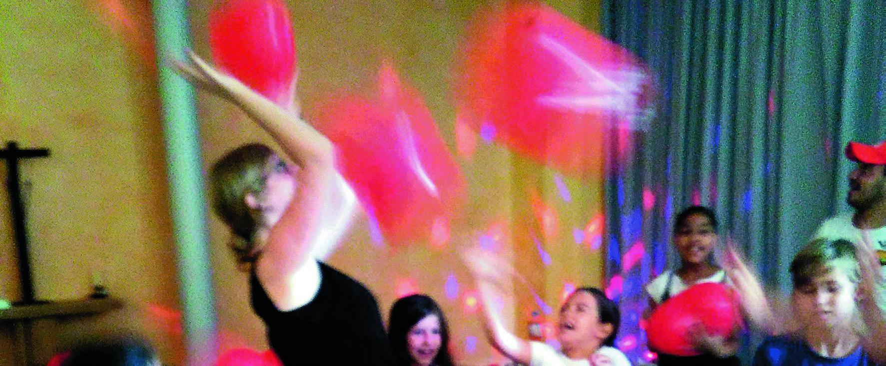 Kinderakademie - Spaß mit Luftballons