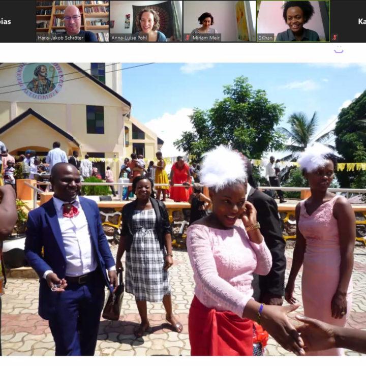 Taufe in Tansania.