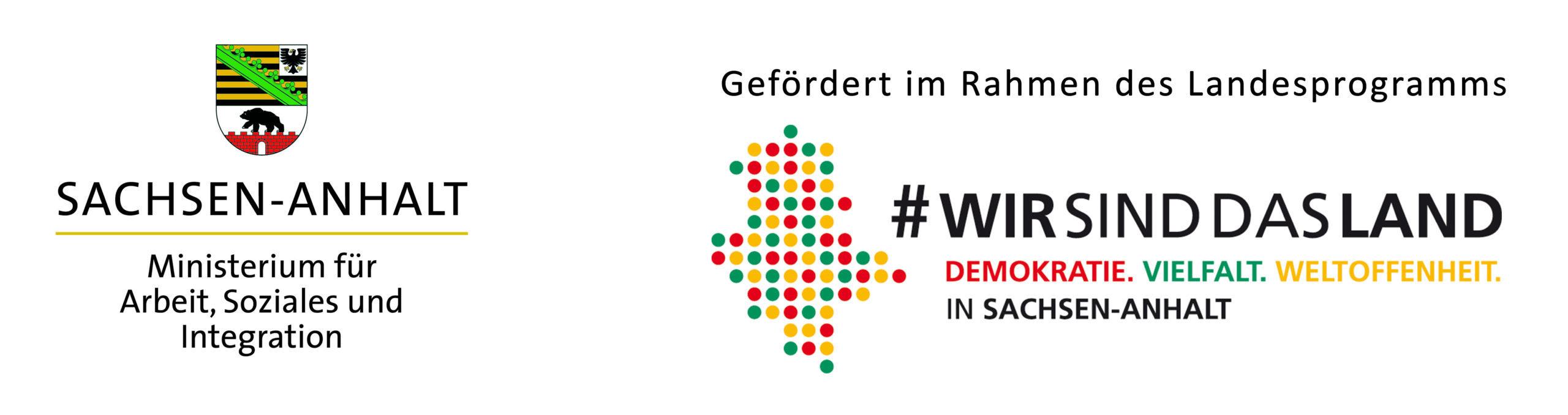 Logo Sachsen-Anhalt - wir sind das Land