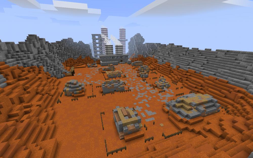 Kupfermine in Sambia in Minecraft - Screenshot aus dem Projekt MineHandy