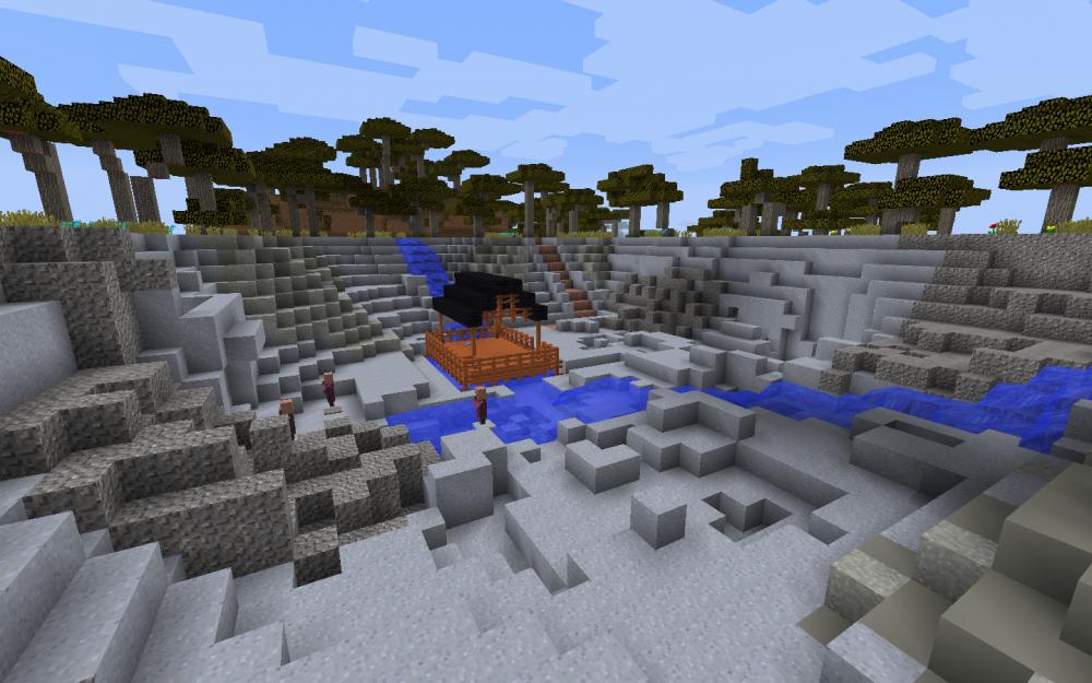 Zinnmine in Minecraft - Screenshot aus dem Projekt MineHandy