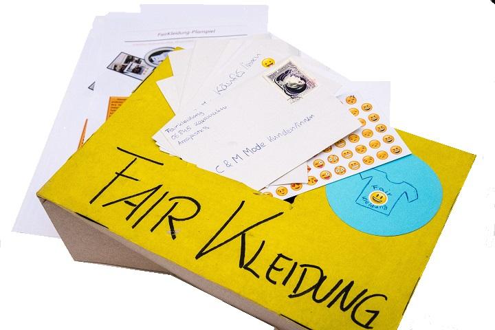 Postbox des FairKleidung Planspiels