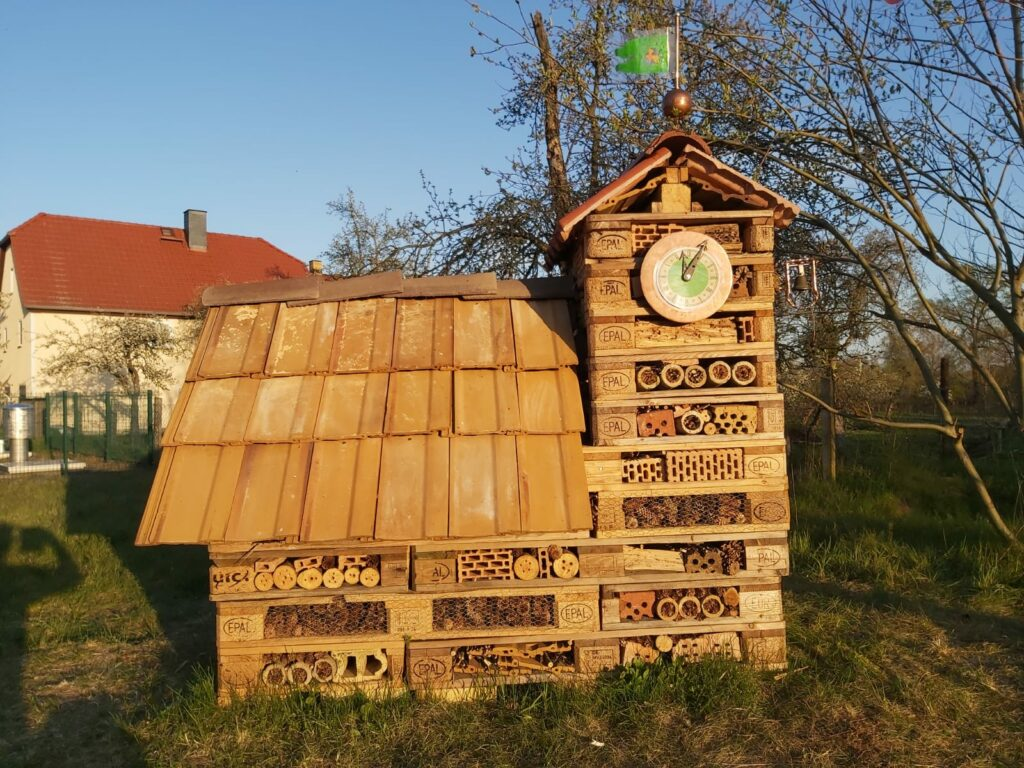 Insektenunterkunft in Sachau