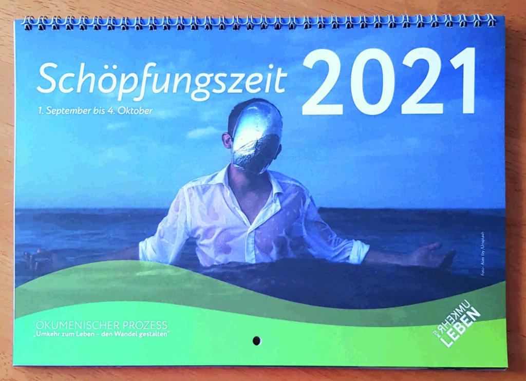 """Bild der Zeitschrift """"Briefe. Zur Orientierung im Konflikt Mensch – Erde"""", Nr. 139, Sommer 2021: Titelbild: Kalender zur Schöpfungszeit © Constanze H. Lattussek"""