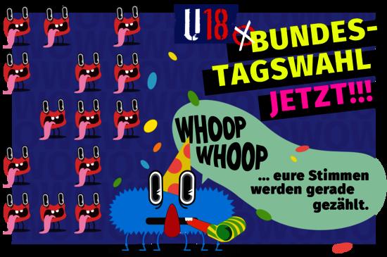 U18-Bundestagswahl jetzt!!! - Quelle: U18.org